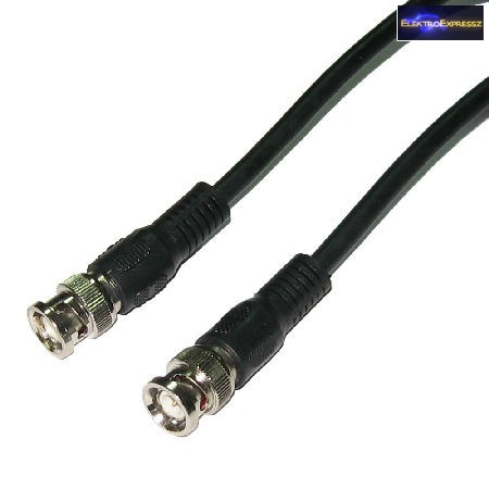 BNC kábel 75 ohm 1,5m