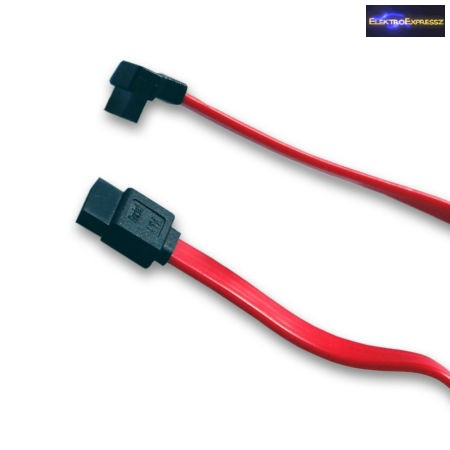 SATA kábel 90° 35cm