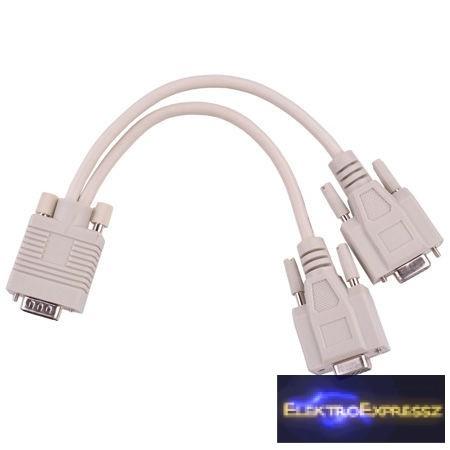 LP-KPO3869  VGA elosztó kábel