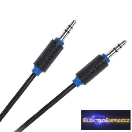 LP-KPO3950-5  Jack Kábel 3.5 dugó - dugó  Kábel 5M
