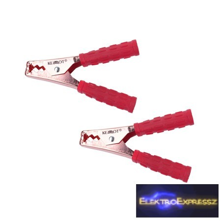 LP-KRO0410 Krokodil csipesz 400A Piros