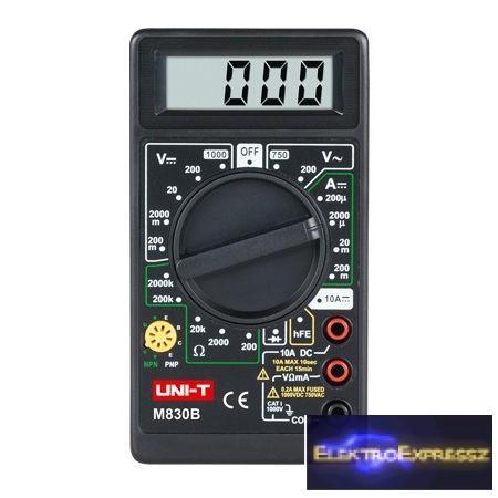 LP-MIE0002 Multiméter DT830B