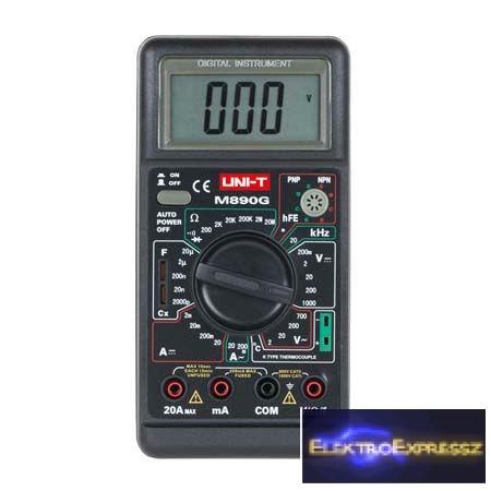 LP-MIE0006 Digitális multiméter M890G