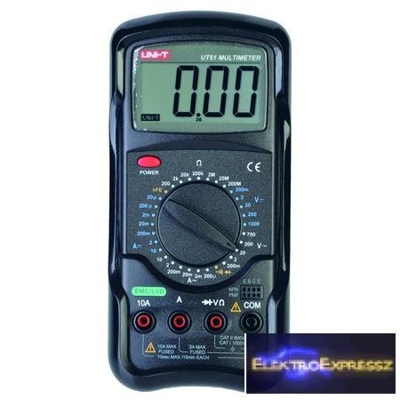 LP-MIE0014 Digitális multiméter  UT51