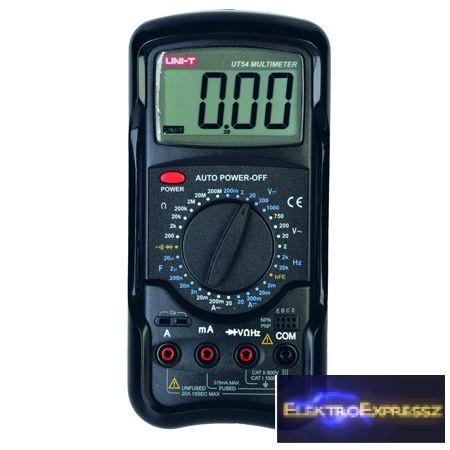LP-MIE0017  Digitális multiméter  UT54
