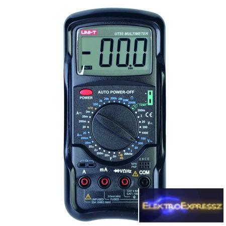 LP-MIE0018 Digitális multiméter UT55