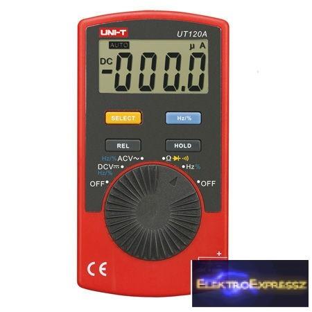 LP-MIE0143 UNI-T Digitális multiméter UT120A