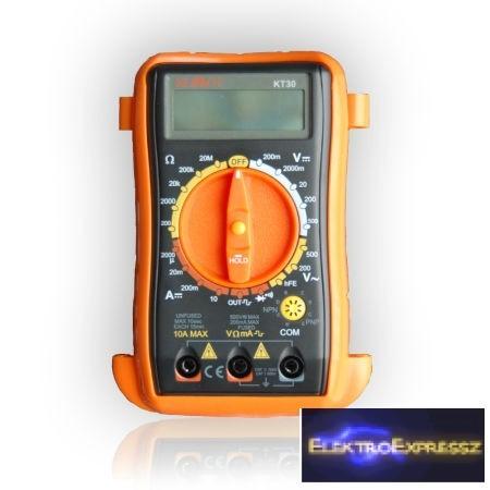 LP-KM0212  Digitális multiméter KT30