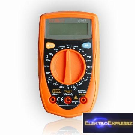 Digitális multiméter  KT33