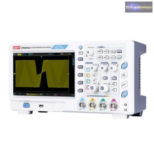 CZ-07730070 Oszcilloszkóp UNI-T UTD2052CEX