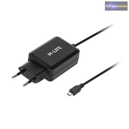 MICRO USB hálózati töltő 2.1A