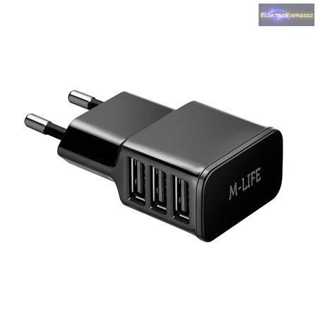 LP-ML0305 Töltő GSM M-LIFE micro USB 230V