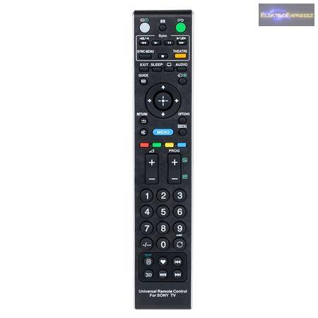 SONY LED TV univerzális távirányító