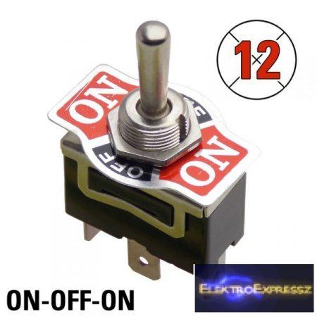 ET-5679CA 1 áramkörös 3 pólusú 3 állású kapcsoló