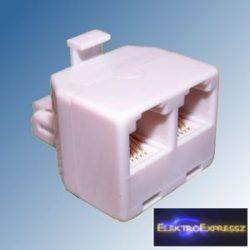 ET-5005 6P4C Telefon kettes osztó