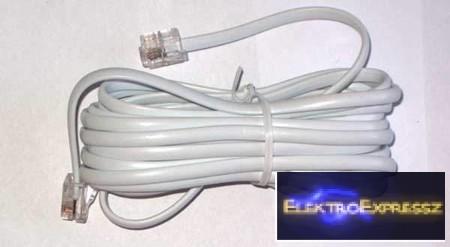 LP-TEL0033F-20 FEHÉR telefon bővítőkészlet 20M