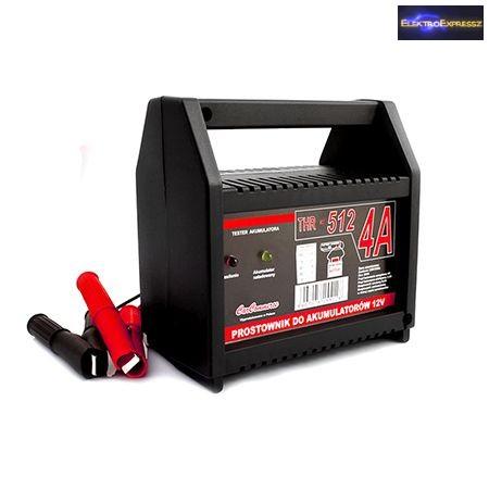 Autó akkumulátor töltő 12V 4A