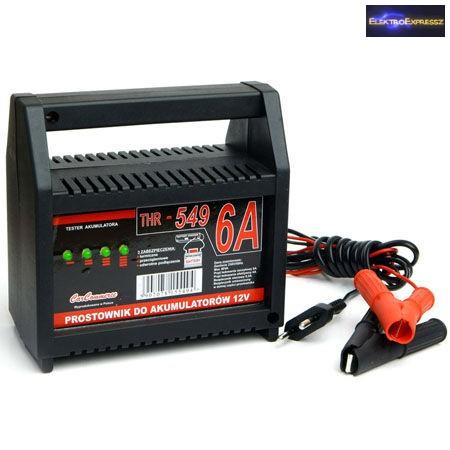 Autó akkumulátor töltő 12V