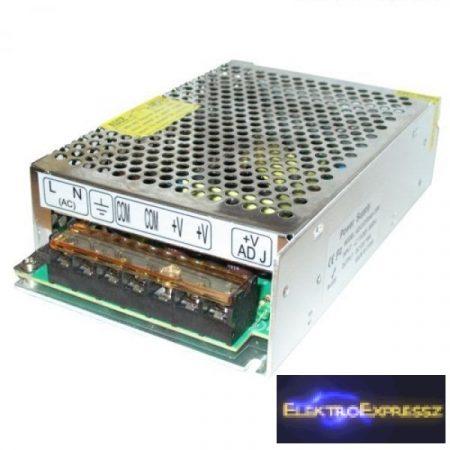 O-AC6114 Tápegység LED szalagokhoz 150W, 12,5A, 12V, fém ház