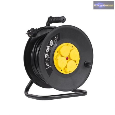 GE-10317 H05RR-F 3G1,5 25m Kábeldob fém IP44