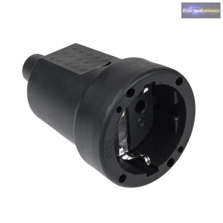 MX-MXG-10 gumi lengő dugalj 250V 16A
