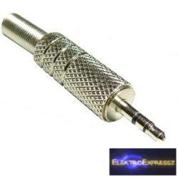 ET-4040 2,5mm sztereó fém jack dugó 2,5mm
