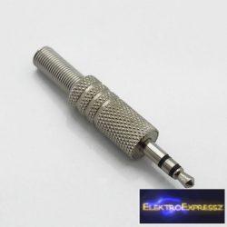 ET-4006 jack dugó 3,5mm sztereó fém