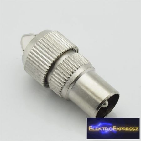 ET-1005 Koax fém dugó. Csavaros kivitel.
