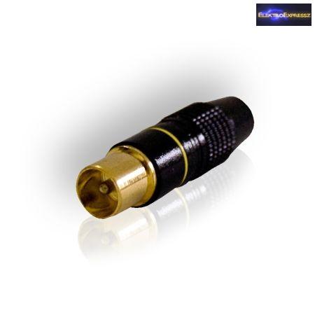 ET-75025TW Koax dugó aranyozott,professzionális