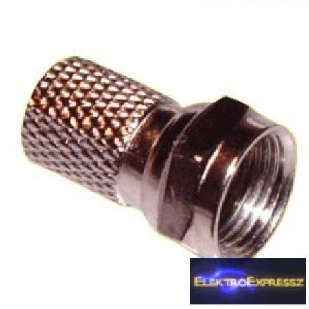 ET-1501R F dugó RG6-os kábelra (6.5mm)