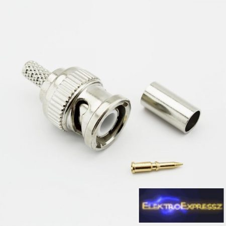 ET-3244 BNC krimpelhető dugó RG58-es kábelra.