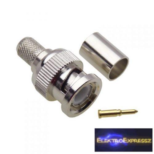 ET-3245K BNC krimpelhető dugó RG6-os kábelra