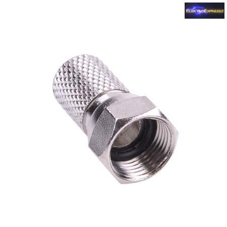 F csatlakozó 7,2 mm gumi tömítés