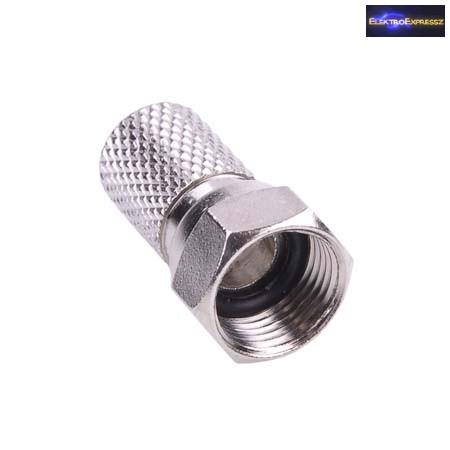 F csatlakozó 7,5 mm gumi tömítés