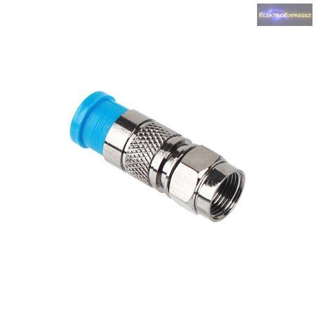 ET-1572 F kompressziós dugó, vízzáró RG6 kábelra