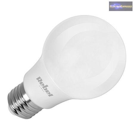 LED gömb, A60 9W E27 6500K 230 V melegfehér