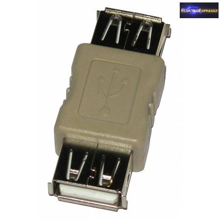 ET-18012 USB A -> USB A aljzat adapter
