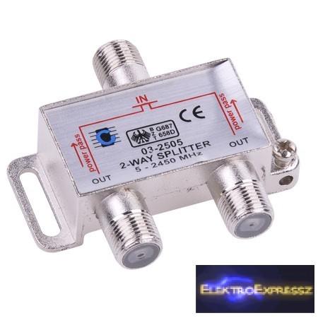 LP-ZLA0635  Két utas szatelit splitter. 5-2450MHz
