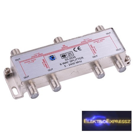 LP-ZLA0638 Hat utas szatelit splitter. 5-2500MHz