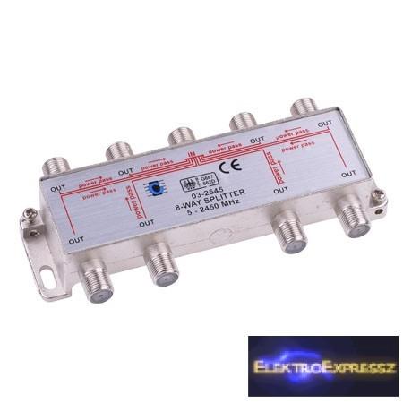 LP-ZLA0639 Nyolc utas szatelit splitter. 5-2500MHz