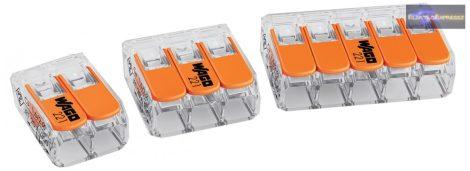 MX-Wago 222-415 Univerzális összekötő (oldható) 5x0, 08-4 mm2