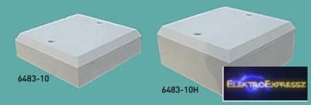 MX-6483-10H csatorna kötődoboz 82x82x36 mm