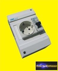 MX-XBS MDA 110 ,Ipari 2+F sínes dugalj +1P 10A B kismegszakító