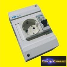 MX-XBS MDA 1+N10 ,Ipari 2+F sínes dugalj +1P+N 10A C kismegszakító