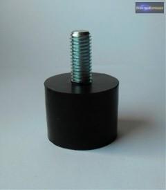GM04 Szintező gumiláb M10 horganyzott