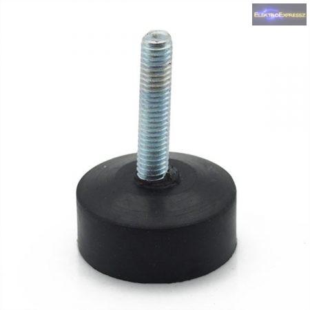 GM05 Szintező gumiláb , M6 saválló