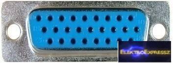 EMF-02 132 Számítógép csatlakozó szerelhető aljzat 26 pólusú