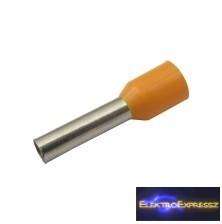 CZ-03360155-4.0mm/AWG12 szigetelt érvéghüvely