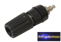 CZ-03380083 Banán dugó aljzat (panel, szigetelt) fekete