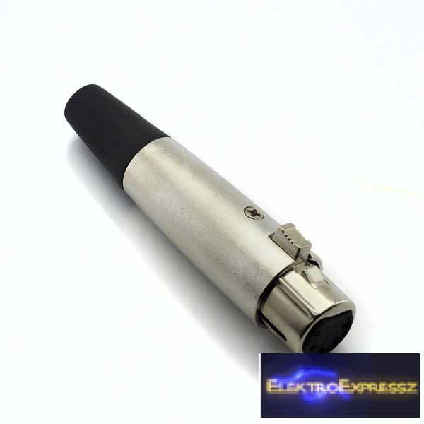 ET-3020 XLR 5 pólusú lengő aljzat